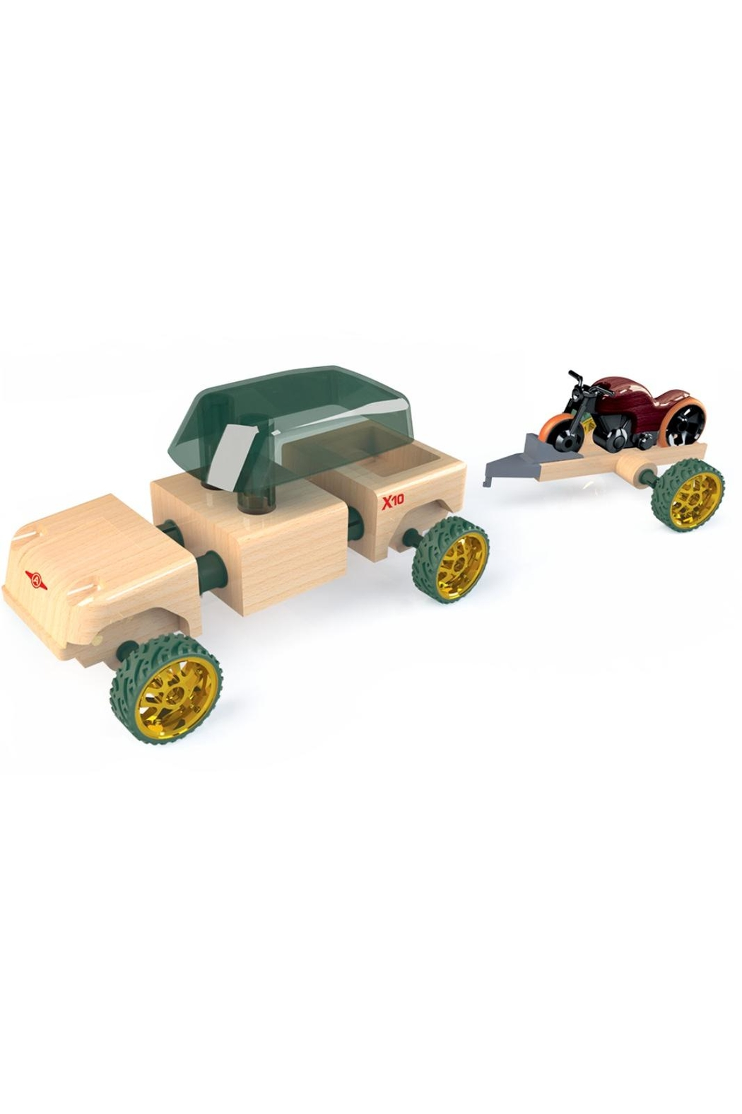 Automoblox Mini X-10 Timber - Front Full Image