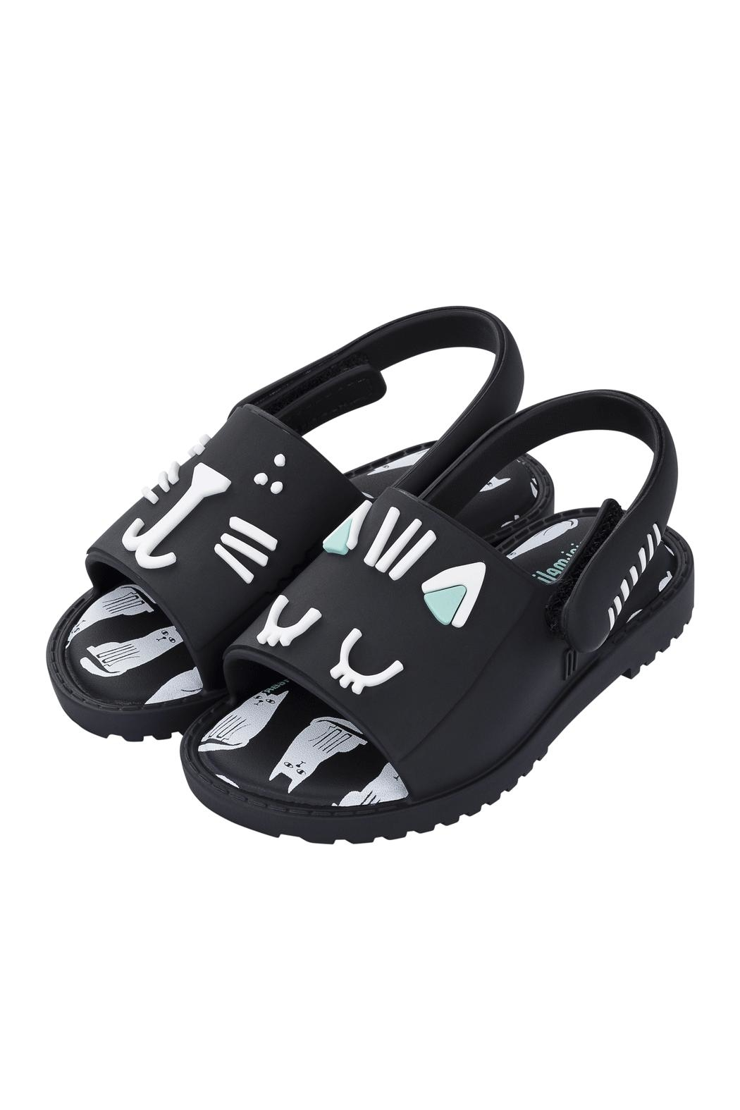 Mini Melissa Kitty Sandal - Front Cropped Image