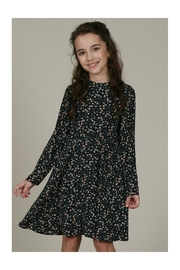 Mini Molly Floral Print Dress - Front full body