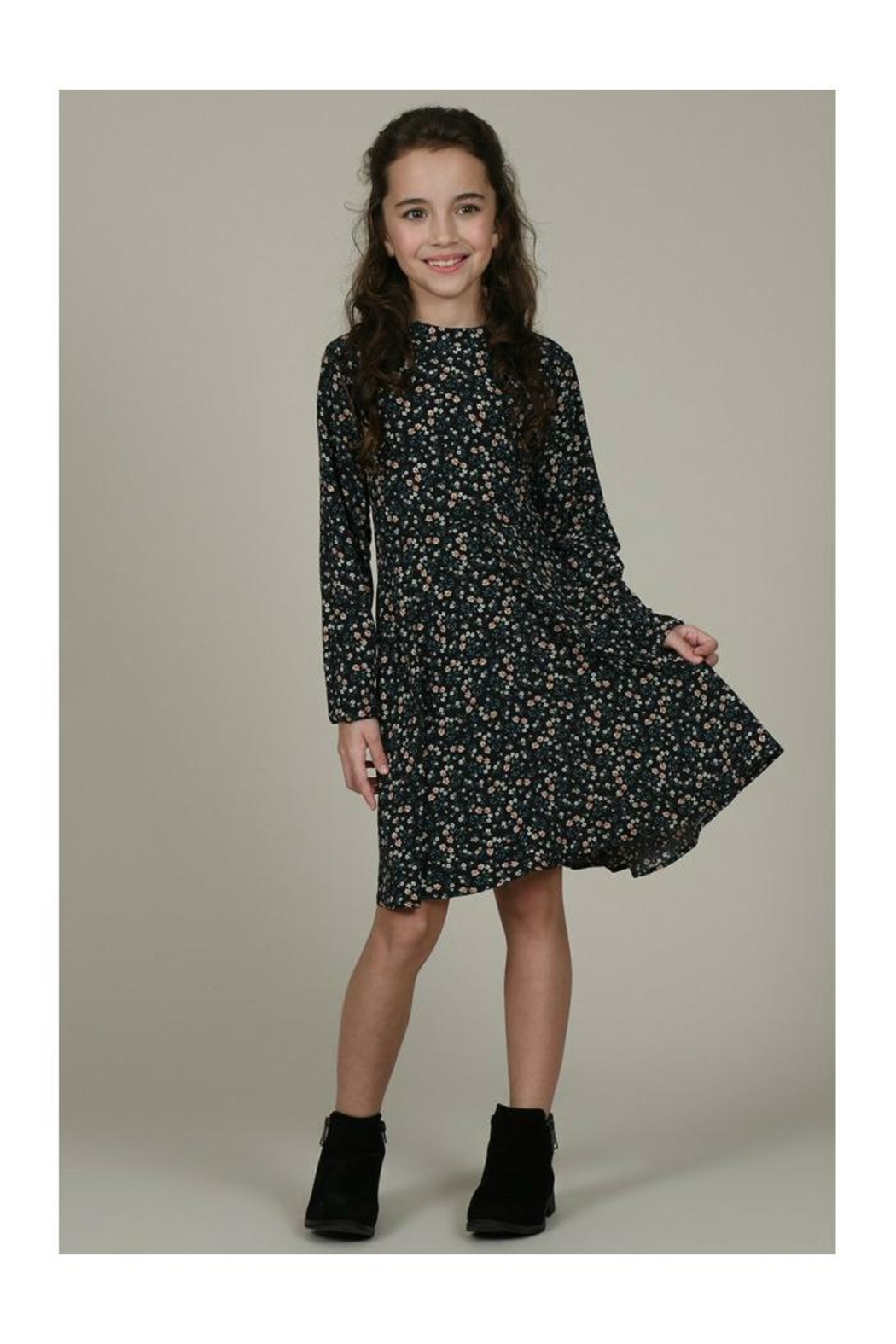 Mini Molly Floral Print Dress - Main Image