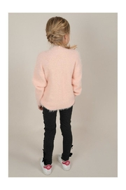 Mini Molly Heart Sparkly Sweater - Back cropped