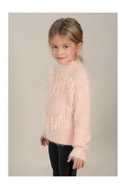 Mini Molly Heart Sparkly Sweater - Side cropped