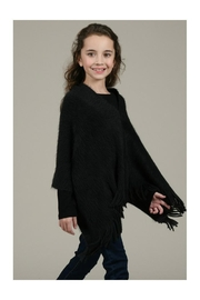 Mini Molly Poncho With Fringe - Side cropped