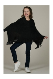 Mini Molly Poncho With Fringe - Front cropped