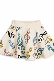 Mini Rodini Clef Skirt - Front cropped