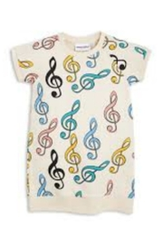 Mini Rodini Clef Sweatshirt Dress - Product Mini Image