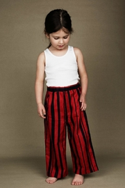 Mini Rodini Odd Stripe Trousers - Front cropped