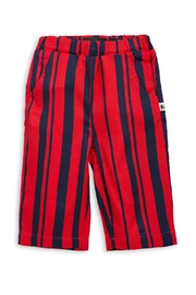 Mini Rodini Odd Stripe Trousers - Front full body