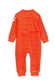 Mini Rodini Stripe Rib Jumpsuit - Front full body