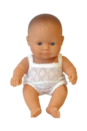 Miniland Baby Boy Doll - Front full body