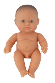 Miniland Baby Boy Doll - Front cropped