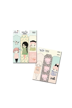 MiniLou Les Petites Bookmarks - Alternate List Image