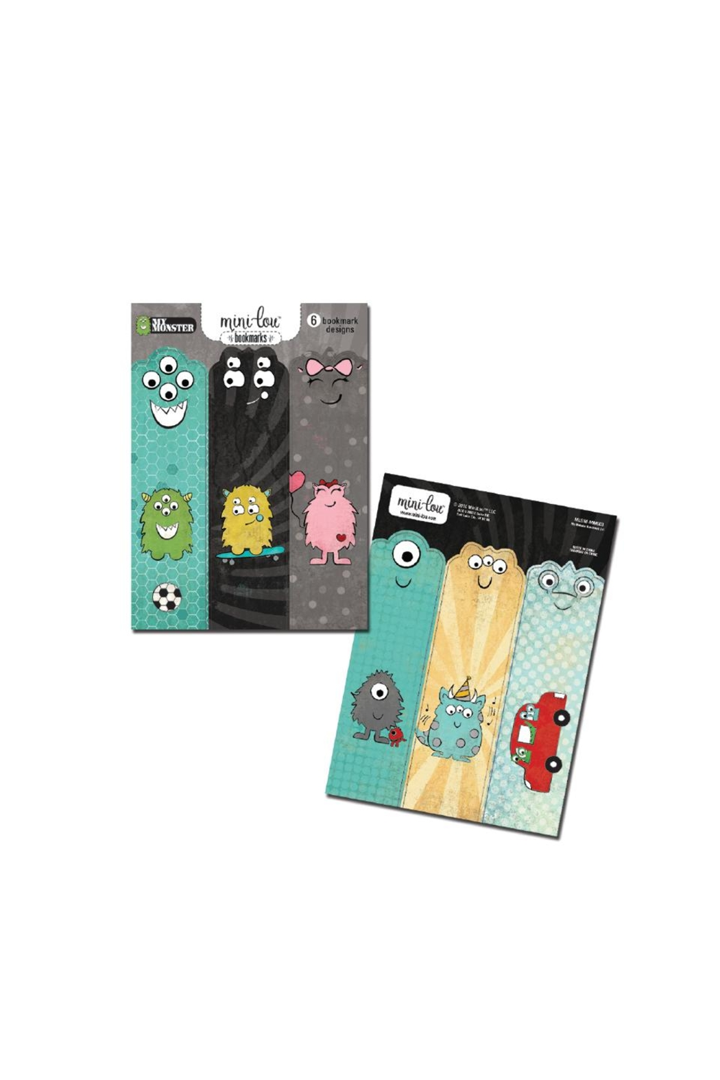 MiniLou My Monsters Bookmarks - Main Image
