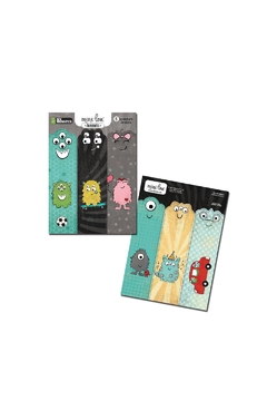 MiniLou My Monsters Bookmarks - Alternate List Image