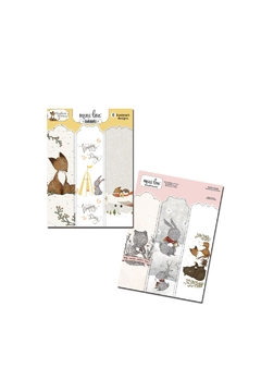 MiniLou Woodland Bookmarks - Product List Image