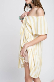 easel Minimalist Stripe Tunic - Front full body