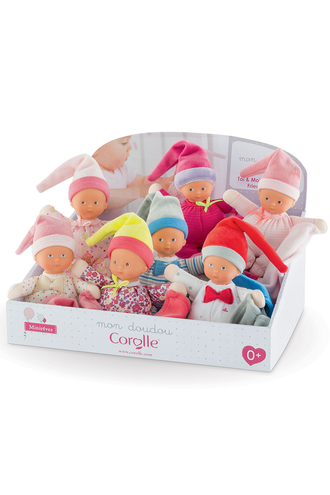 Corolle Minireves 6 Inch Baby Doll - Main Image