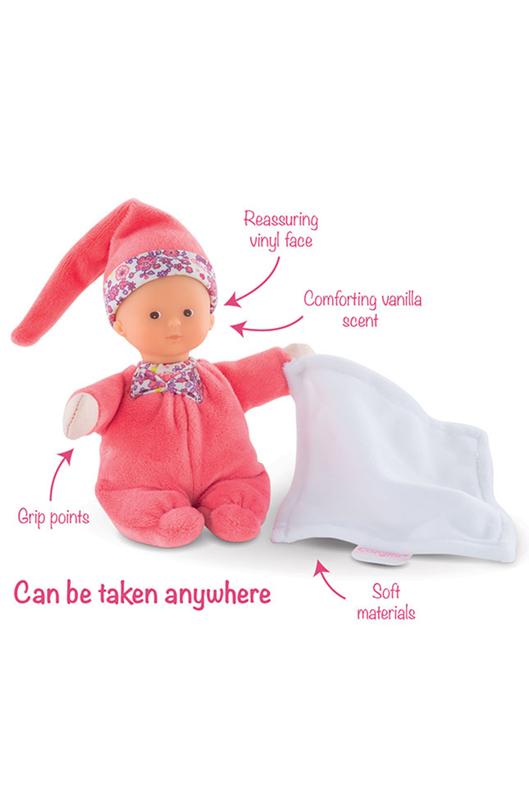 Corolle Minireves 6 Inch Baby Doll - Side Cropped Image
