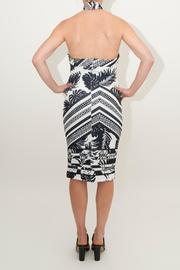 Ministry of Style Meadow Halter Dress - Front full body