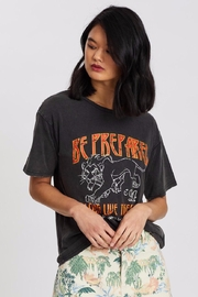 Mink Pink Lion-King Preparation Tee - Front full body