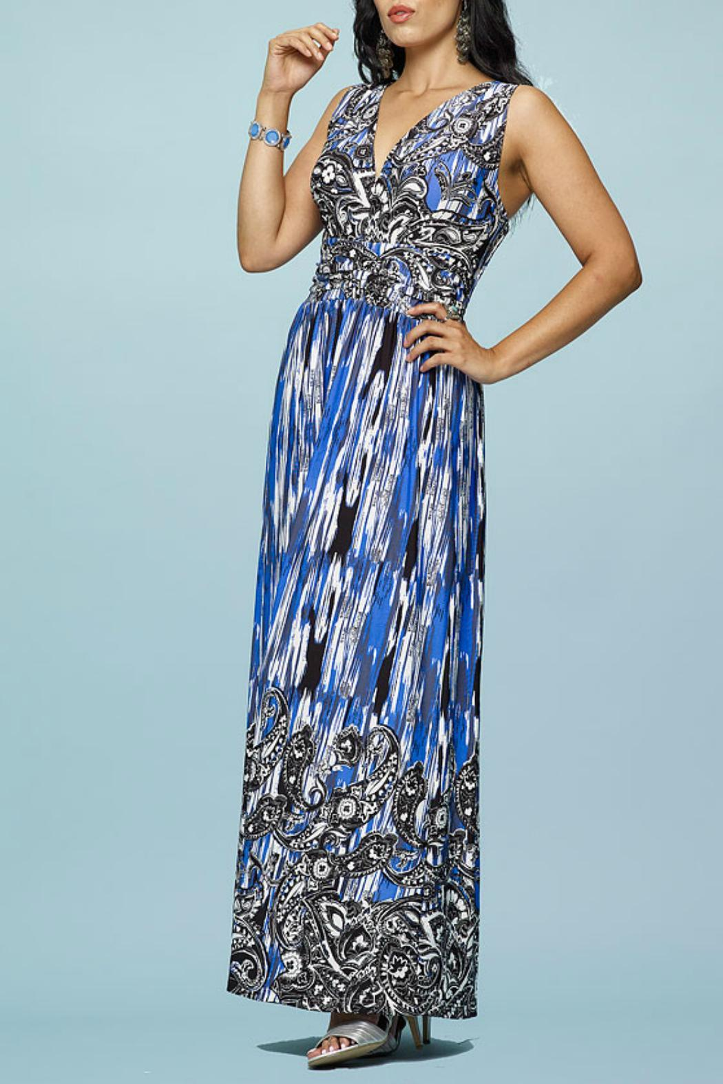 Minkas Blue Maxi Dress from Canada by Goldcoast — Shoptiques
