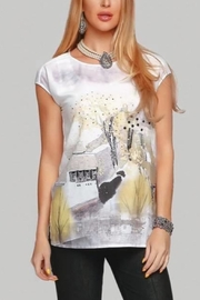 Minkas Landscape Style Top - Front cropped
