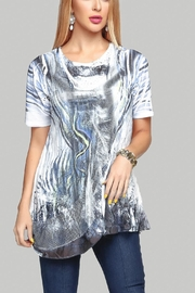 Minkas Layered Fooler Top - Front cropped