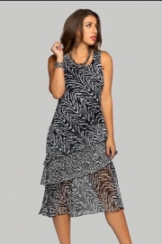Minkas Print Layer Dress - Product Mini Image