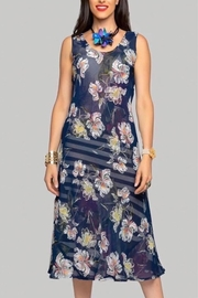 Minkas Reversable Print Dress - Product Mini Image