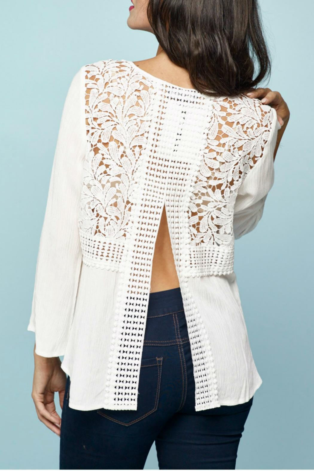 Minkas White Lace Top from Canada by Goldcoast — Shoptiques