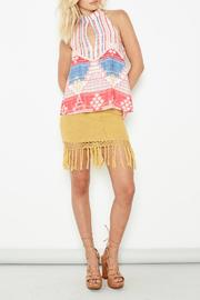 MINKPINK Adore Crochet Skirt - Front full body
