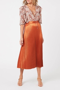 MINKPINK After-Glow Pleat Skirt - Product List Image