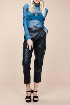 MinkPink Audrey Pleather Pants - Alternate List Image