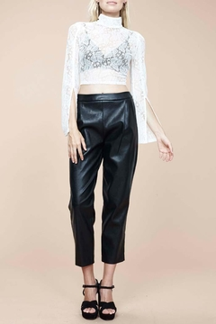 MinkPink Audrey Pleather Pants - Product List Image