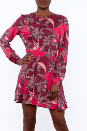 MinkPink Backless Floral Dress - Product Mini Image