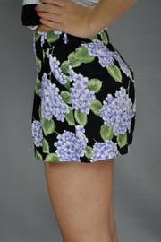 MinkPink Bloom Printed Shorts - Front full body