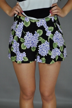Shoptiques Product: Bloom Printed Shorts