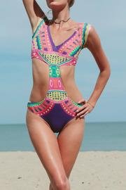 MinkPink Bright Delight Swimsuit - Product Mini Image