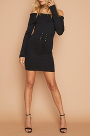 MINKPINK Corset Knit Dress - Side cropped