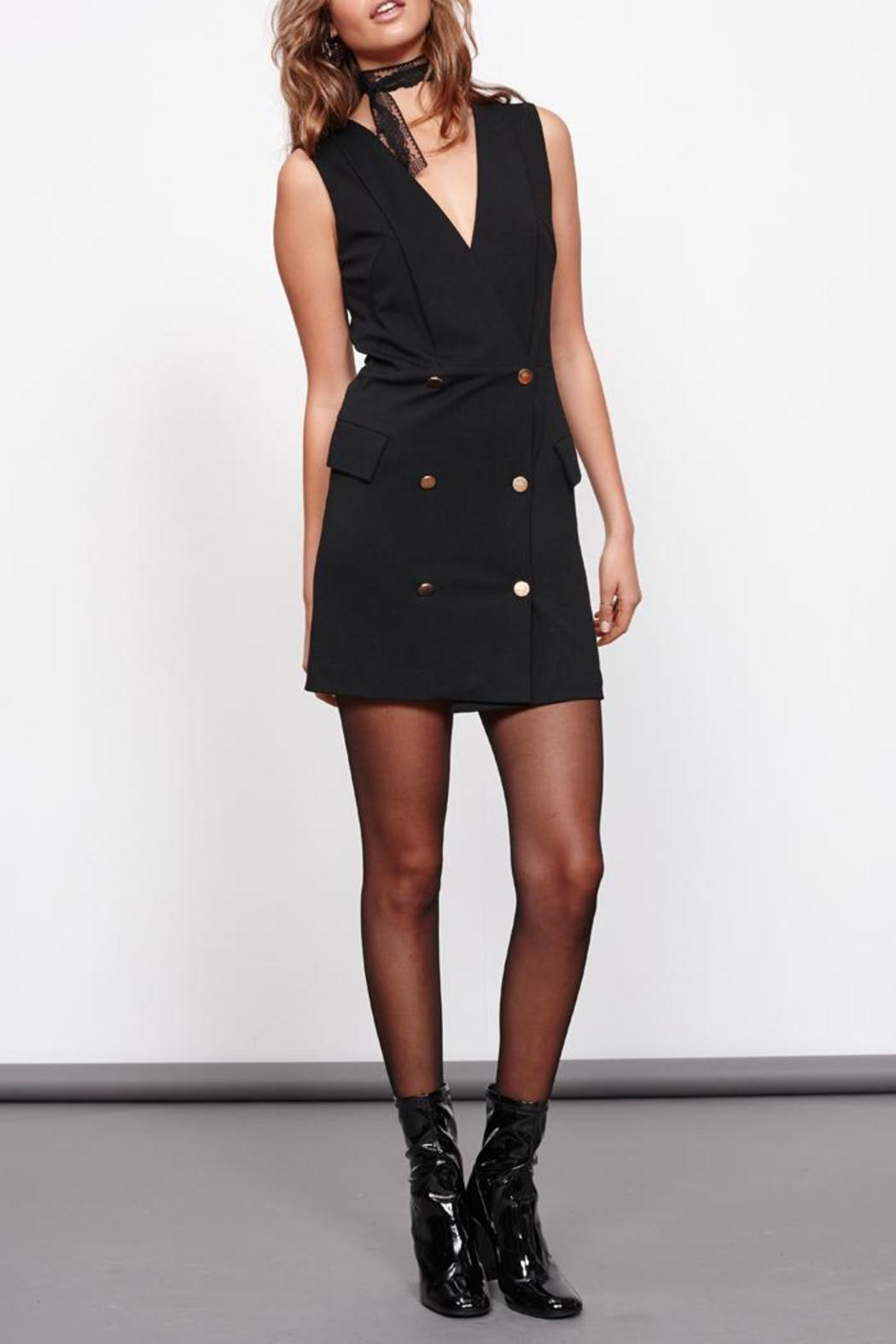 MinkPink Crawford Blazer Dress - Side Cropped Image
