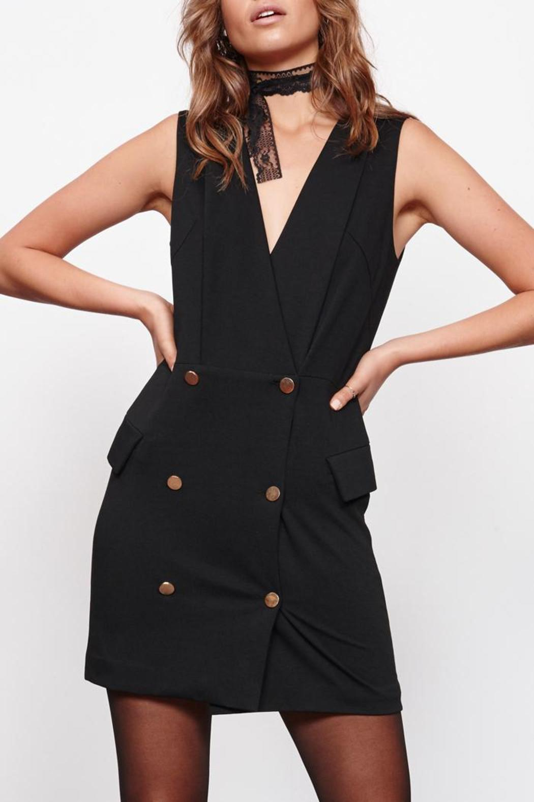 MinkPink Crawford Blazer Dress - Front Cropped Image