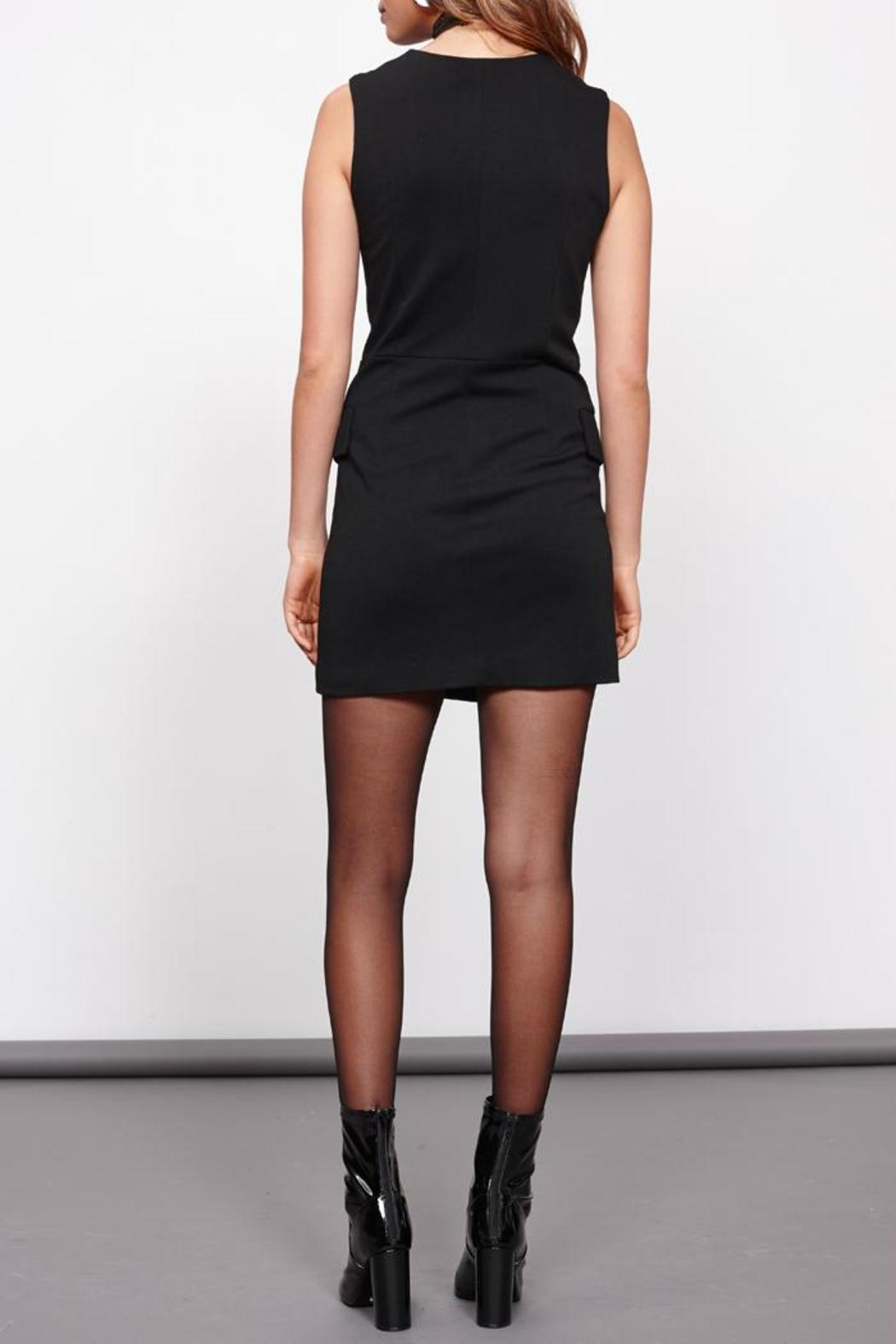 MinkPink Crawford Blazer Dress - Back Cropped Image