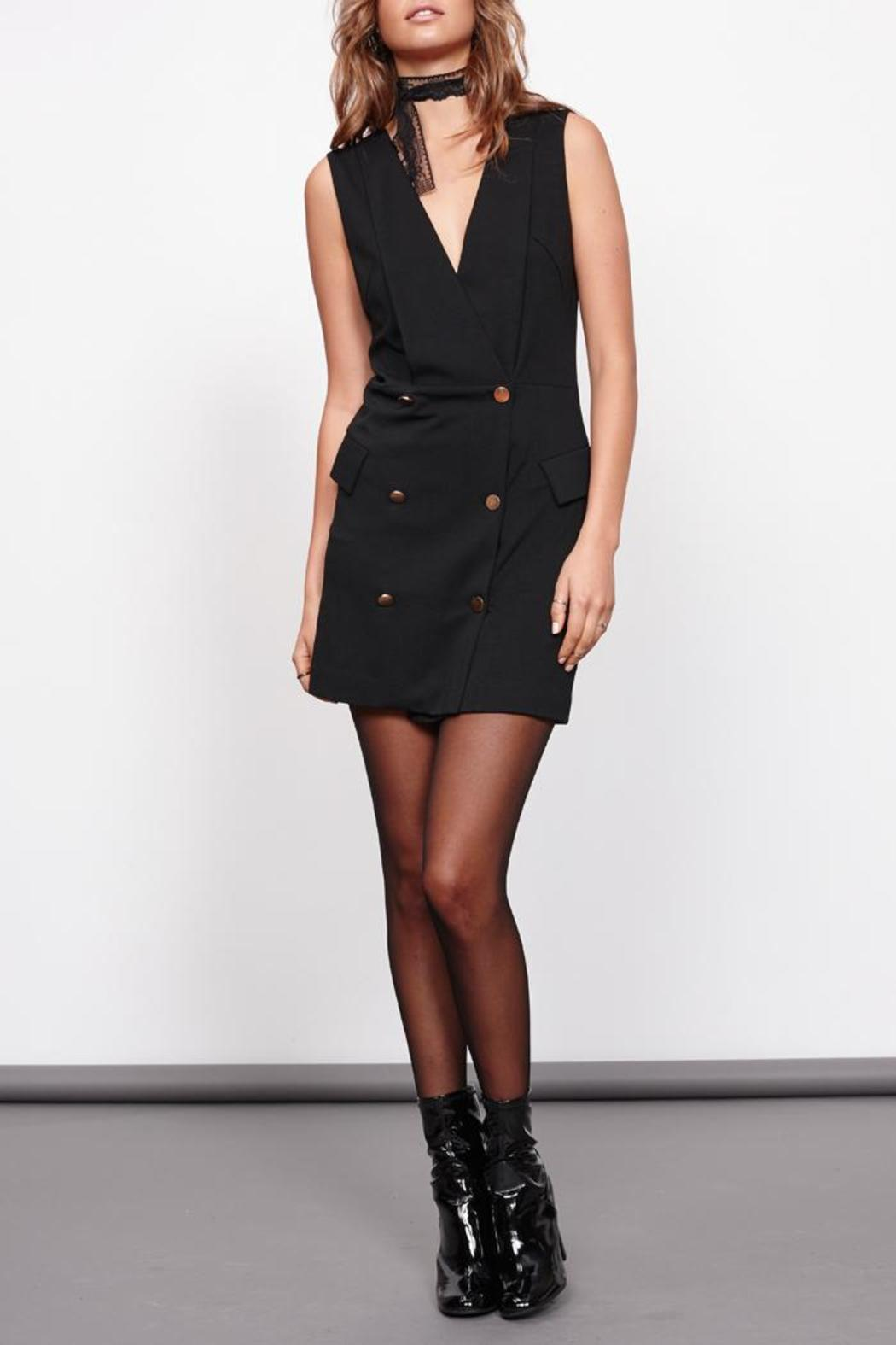 MinkPink Crawford Blazer Dress - Front Full Image