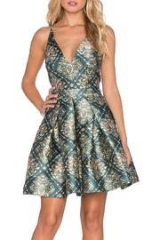 Shoptiques Product: Dance Mini Dress - Front cropped