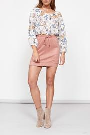 MinkPink Drawstring Mini Skirt - Product Mini Image