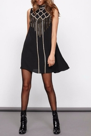 MinkPink Embroidered A-line Dress - Product Mini Image