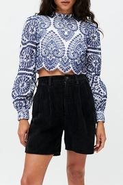MINKPINK Emilee Anglasie Blouse - Front cropped