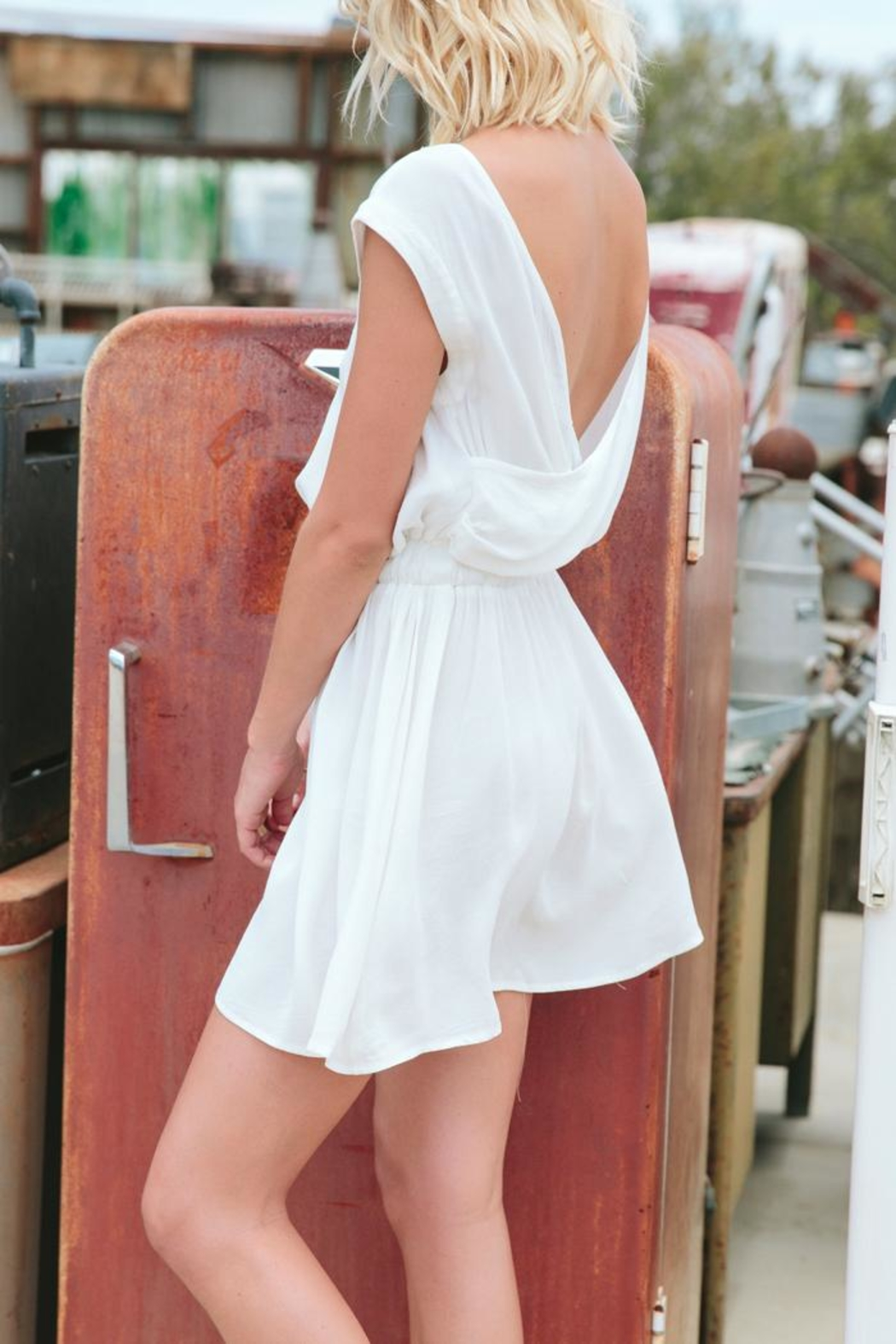 MinkPink Endless Road Dress - Front Full Image