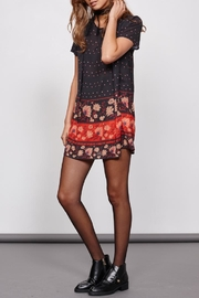 MinkPink Fallen T-Shirt Dress - Front cropped