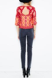 MinkPink Folktale Blouse - Back cropped
